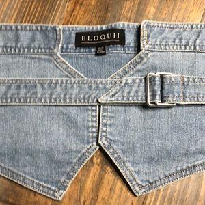 df41b2f1b4 Eloquii Accessories - Eloquii Blue Denim Waist Belt. 14 16. New w